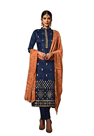 4fd9eb6fd7d5 UFW Pakistani Suits for Women,Pure Jam Silk Foil Print With Neck  Embroiderywork Top,