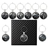 Throne Drink Markers Wine Charms 9PCS/Set