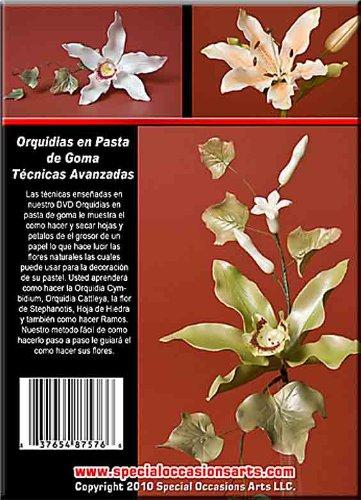 Amazon.com: OSA Orquidias en pasta de goma DVD Flores de pastel de Boda: Home & Kitchen