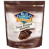 Blue Diamond Dark Chocolate Flavored Oven Roasted Almonds, 25 Oz