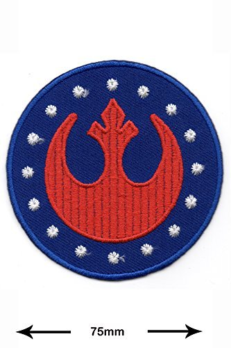 Star Wars Jedi Costume Pattern (Patch - Starwars - Rebel - Special Forces - New Republic - Movie Game Patch - Cartoon - Comic - Vest - Iron on Patch - Embroidered Patches - Applique - Sign - Badge - Costume - Gift - Patch555)