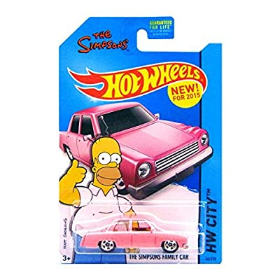 Hot Wheels - The Simpsons Family Car (Long Card) by Hot Wheels: Toys & Games