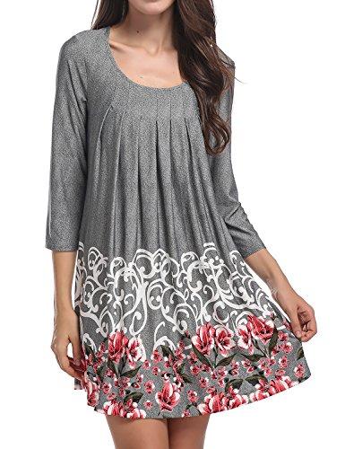 Ladies 3/4 Sleeve Dress - 7