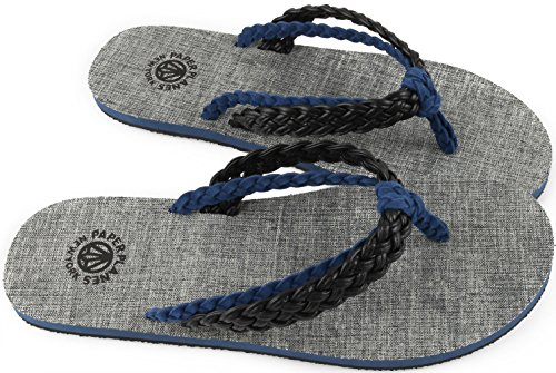 Twisted 1154 Black Simple 1 Unisex Shoes 1154 Flip Sandals Paperplanes Blue Fashion Flop wg6FqTU