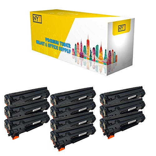 New York Toner New Compatible 10 Pack High Yield Toner fo...