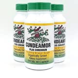 Cheap Organically Grown Bitter Melon Extract – 100% Memordica Charantia (Cundeamor Plus Chromium – 500mg 60Caps, 3 Bottles) by Herbacure