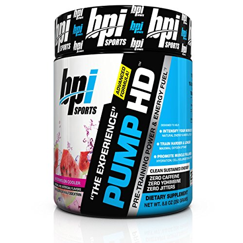 BPI Sports Pre-Training Power and Energy Fuel Powder, Waterm
