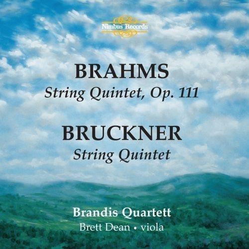 Brahms/Bruckner - String Quintets by Brandis Qt [Music CD]