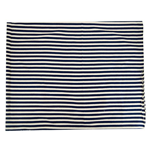 Felice Old Time Pillow Ticking Indoor/Outdoor Timeless Ticking Stripe Fabric By The Yard (blue (Timeless Ticking Stripe)