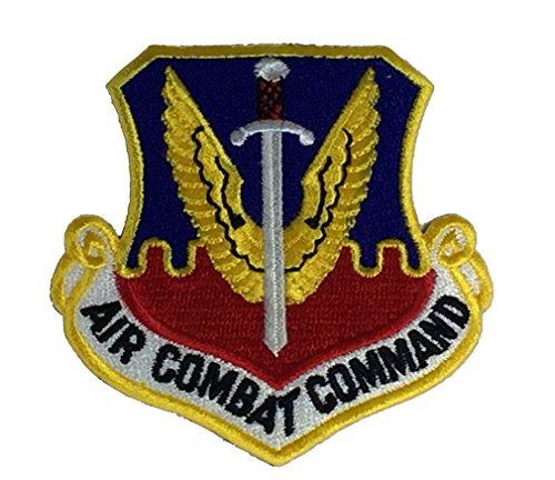 AIR COMBAT COMMAND Unit Patch - Color - Veteran Owned Business (Command Patch Combat Air)