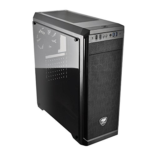 (Cougar MX330 Mid Tower Case with Full Acrylic Transparent)