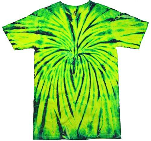 (Colortone Tie Dye T-Shirt 2X Wild Spider)