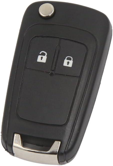 Remoto Caso De Cascara De La Llave 2 Botones Fob Para El Opel Vauxhall Holden Insignias Astra