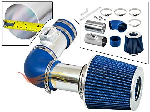 Velocity Concepts Blue Short Ram Air Intake Kit Filter 98-01 Ford Ranger with 2.5L L4