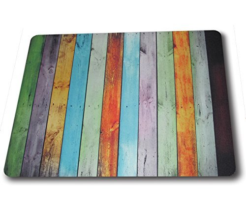 (Rainbow board) Printing mouse pad for computers and HD Print custom mouse pad 9*7.5 inch