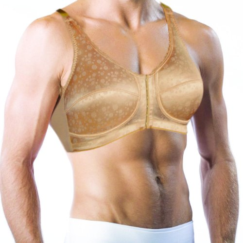Classique Pocket Bra for Men. Holds Silicone Breast Forms...