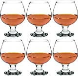 Argon Tableware Brandy / Cognac Snifter Glasses - 390ml (13.7oz) - Pack Of 6 Glasses