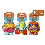 Hartz Frisky Frolic Latex Squeakable Dog Toy - Set of Three