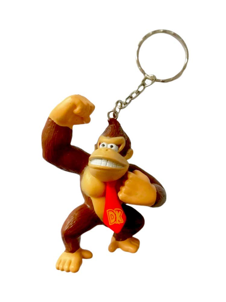 Desconocido Super Mario Bros Llavero Figura 3D Donkey Kong ...