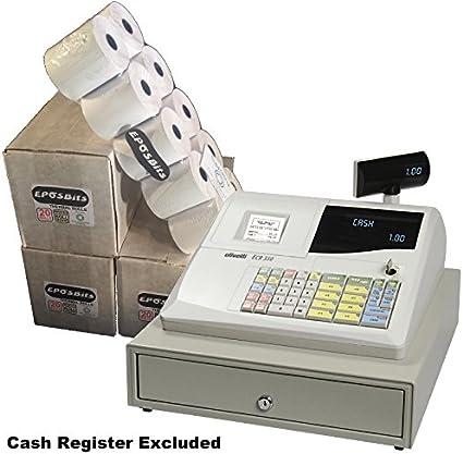 eposbits® marca rollos para Olivetti ecr350 350 caja registradora ...