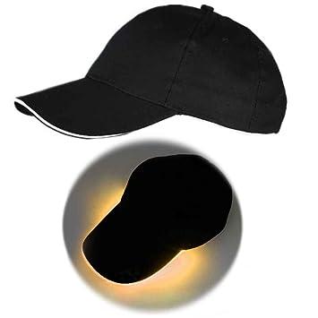 Korowa Gorra de béisbol de luz LED Gorra de fiesta de club ...