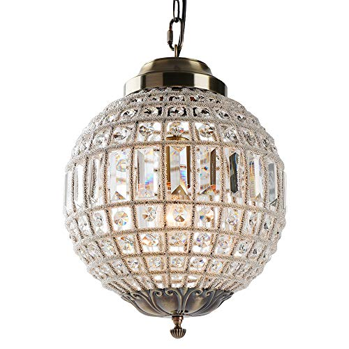 Newrays Frence Royal Empire Traditional Style Crystal Ball Lamp Lighting Fixtures