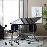 NEW Craftmaster II Glass Top Art ; Drawing Drafting Table