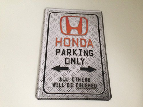 Plaque Honda Parking Only