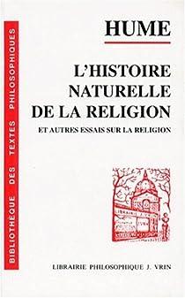 scepticisme de hume le dialogues sur la religion naturelle