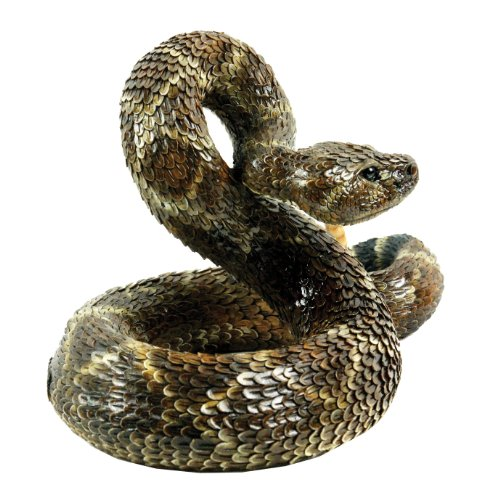 Michael Carr Designs 80057 Western Diamondback Rattlesnake Outdoor Statue, Large by Michael Carr Designs (Image #3)