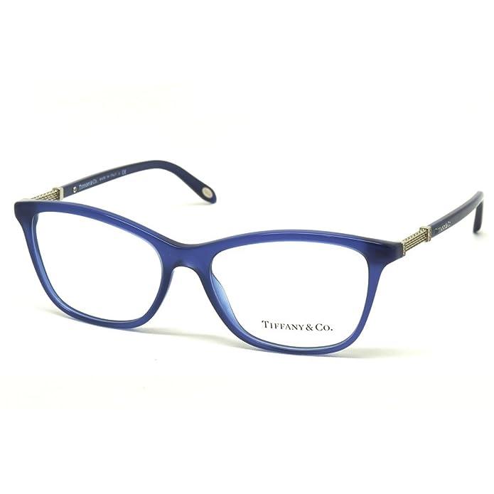 Tiffany & Co. Montura de Gafas 2116B para mujer Tortoise/Blue, 53 mm ...