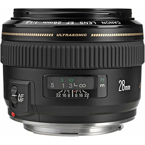 Canon EF 28mm f/1.8 USM Wide Angle Lens for Canon SLR Cameras (Canon Ef 50mm F 1.8 Ii Best Price)