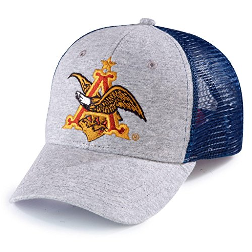 Anheuser-Busch Signature Embroidered Logo Mesh Back Hat (Anheuser Busch Hat)