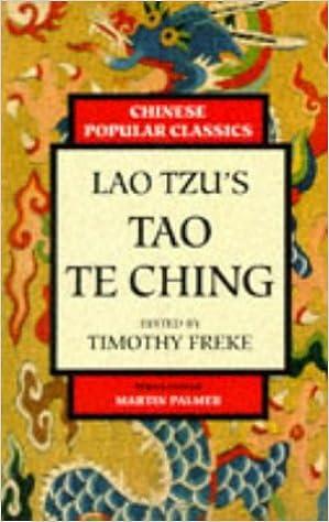 Lao Tzu's Tao Te Ching (Chinese popular classics)