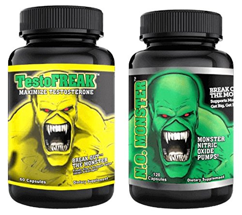 Monster Pump (⧫ #1 RATED NITRIC OXIDE PRODUCT. Colossal Labs N.O. Monster Stack, powerful pumps and enhance muscle gains)