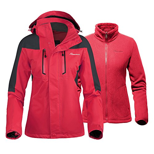 Red All Weather Jacket - 8
