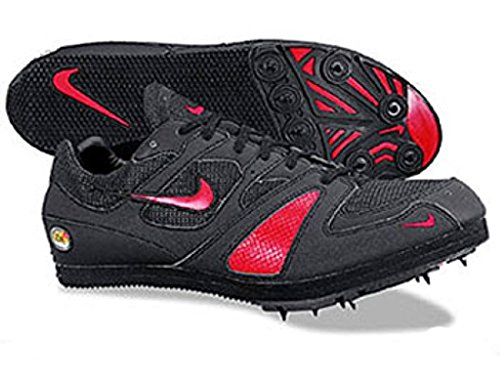 Nike Women's Zoom Triple Jump/Pole Vault Field Event Spikes Size 12.5 Black/Red