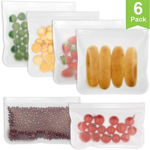 YAASO - Bolsas reutilizables de almacenamiento de alimentos ...