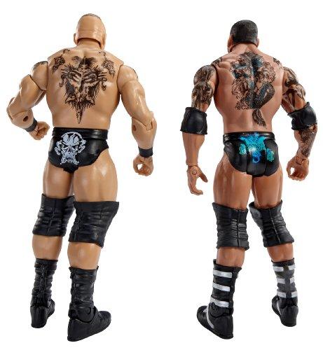 WWE WrestleMania Fantasy Match-Up Brock Lesnar and Batista Action Figure, 2-Pack