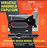 Staple Gun with Remover - 3 in 1 Heavy Duty Staple