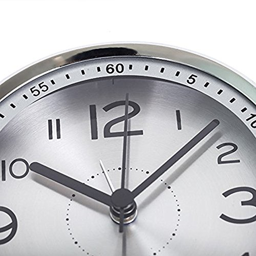 Buy desk table clock metal