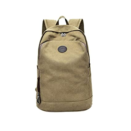 2018 Mans Canvas Backpack Travel Schoolbag Male Men Large Capacity Rucksack Shoulder School Bag Mochila Escolar