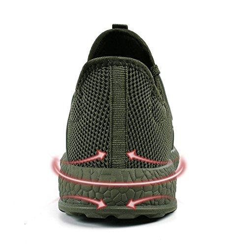 Rápido Green1 Malla Zapatos Agua Varios Army Qansi Transpirable De Zapatillas Mujer Colores Secado qH1FxnO87w