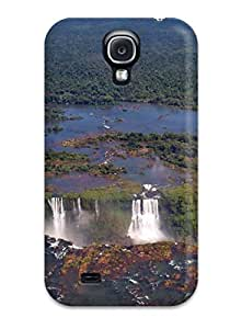Shock-dirt Proof Iguazu Waterfalls Case Cover For Galaxy S4