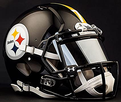 Image Unavailable. Image not available for. Color  Riddell Speed Pittsburgh  Steelers NFL Authentic ... ea131438b603