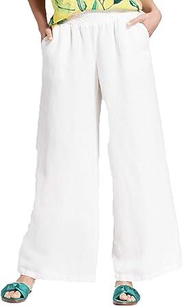 Amazon Com A New Day Pantalones De Lino Para Mujer Clothing