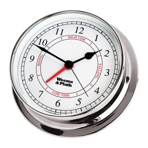 Weems & Plath Endurance Collection 125 Time and Tide Clock - Endurance Plath Collection