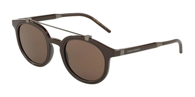 Dolce & Gabbana 0DG6116 Gafas de sol, Brown, 49 para Hombre ...