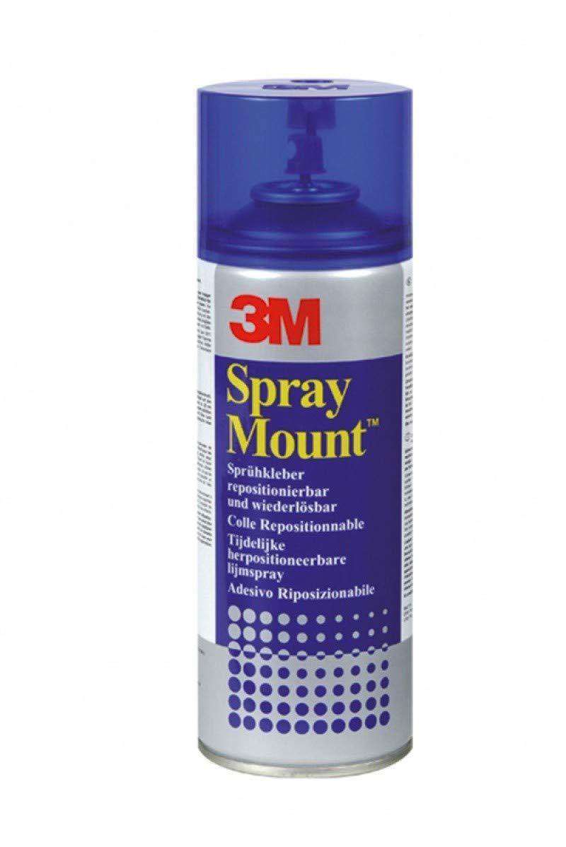 3M Adesivo Spray Display Mount/Colla Spray Extra Forte, Adesioni Affidabili e Immediate, 400 ml 3M Italia SRL 241714