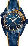omega ceramic - Omega Seamaster Planet Ocean Big Blue Men's Watch 215.92.46.22.03.001